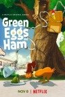 Vihreitä munia ja kinkkua